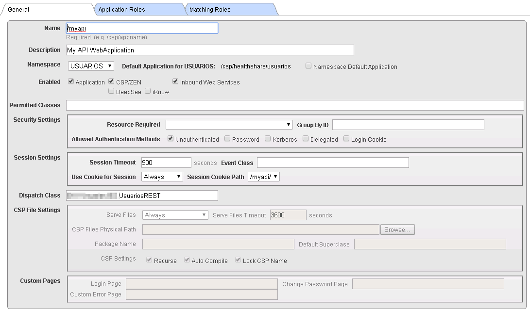 Configure IIS for WebApplication in Ensemble | InterSystems