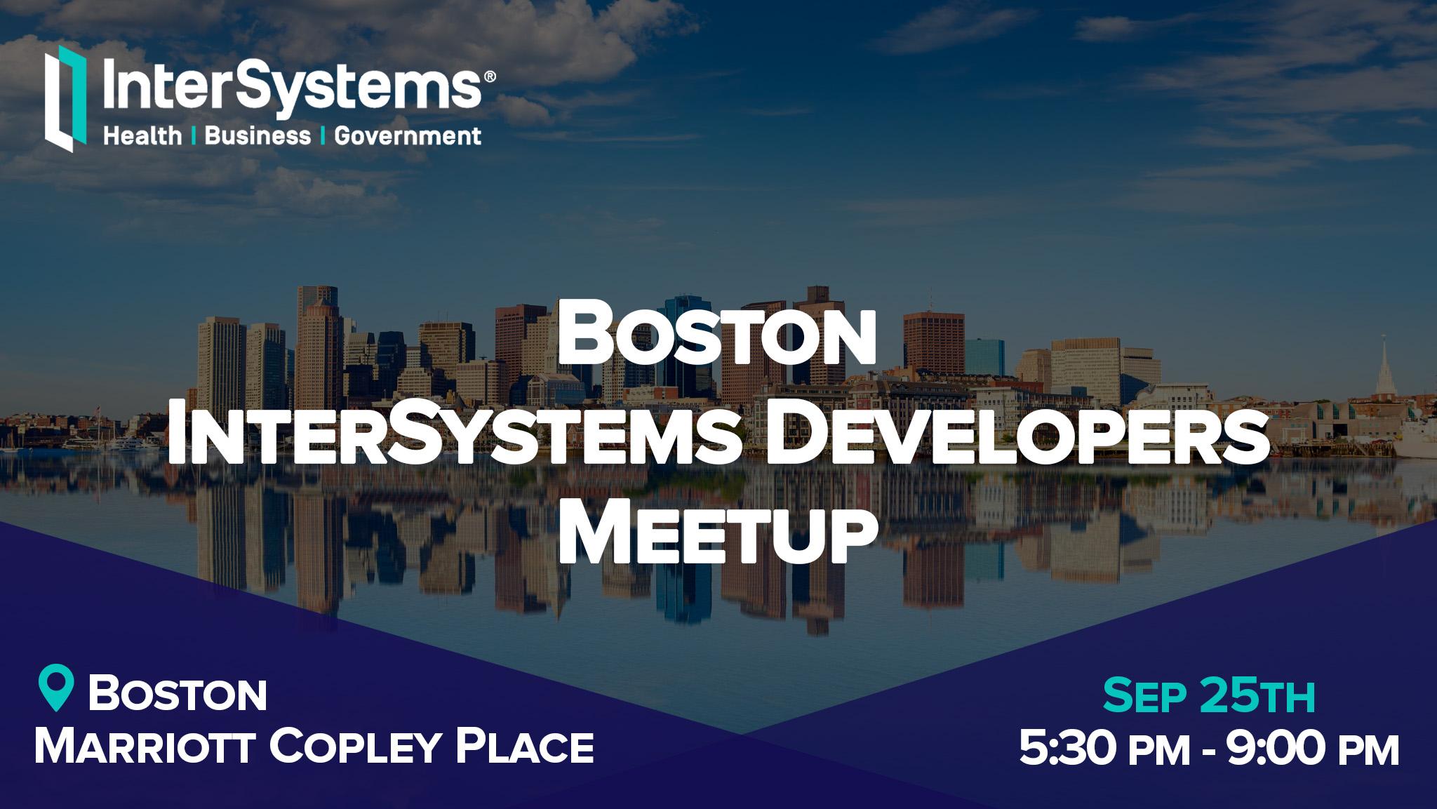 Developer Community | InterSystems Developer Community