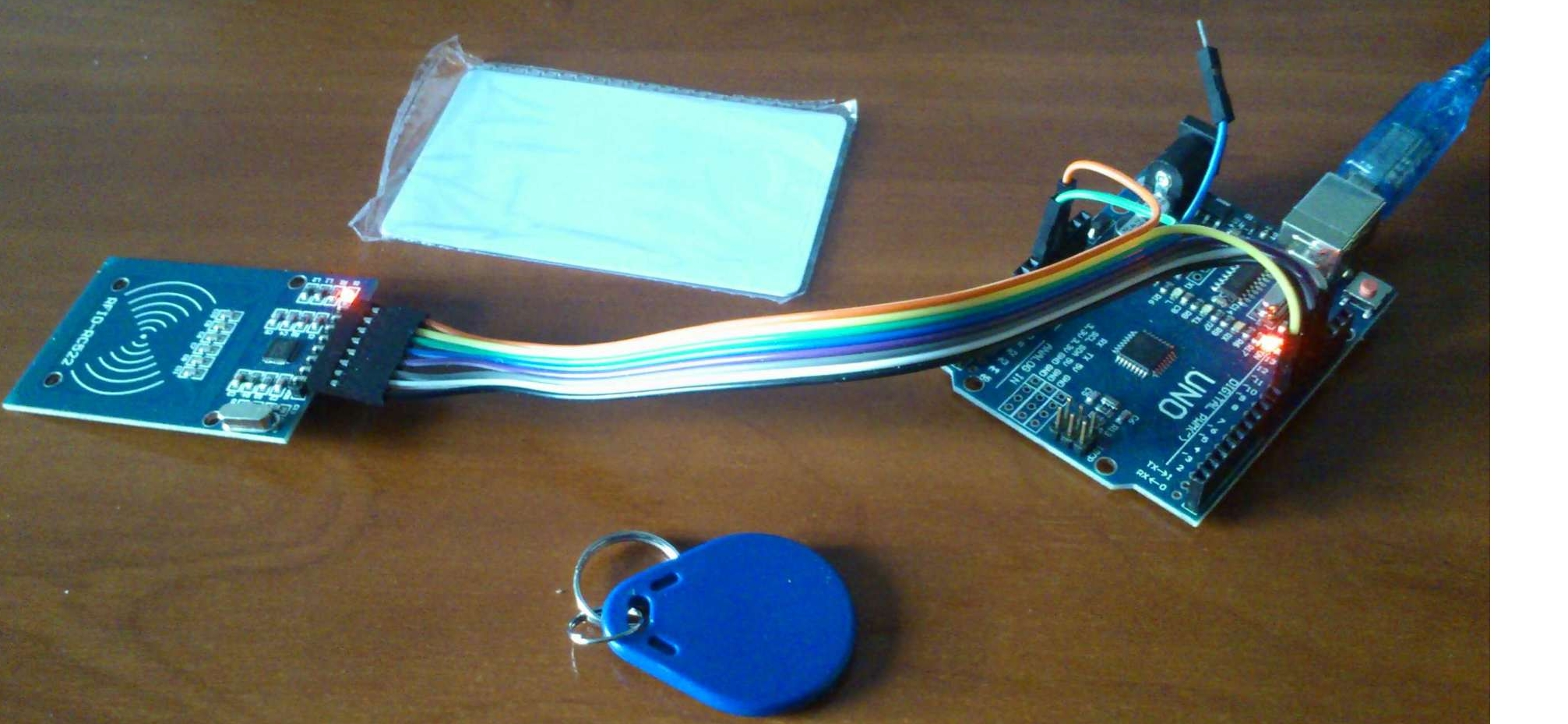 User authentication using Arduino with RFID | InterSystems