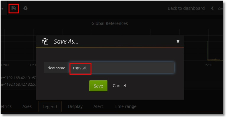 Grafana-based GUI for mgstat, a system monitoring tool for InterSystems