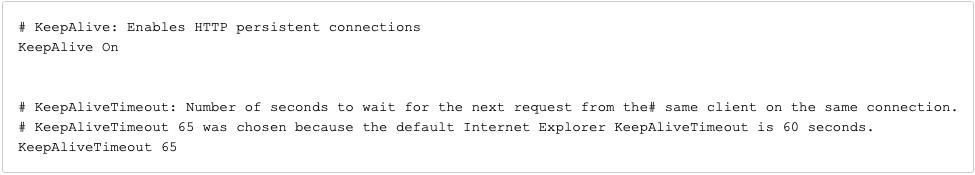 Apache HTTPD Web Server Configuration for HealthShare