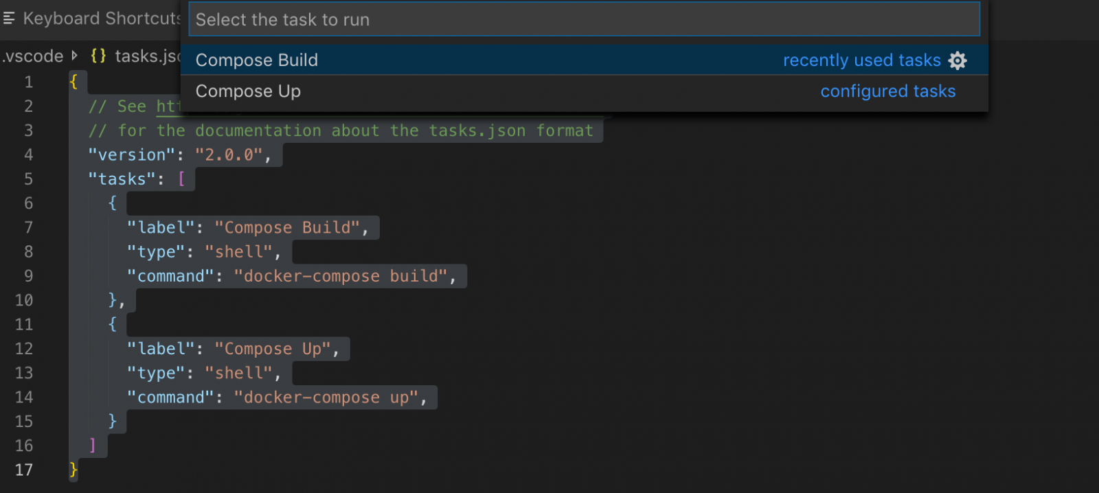 Keyboard shortcuts for VSCode terminal and IRIS