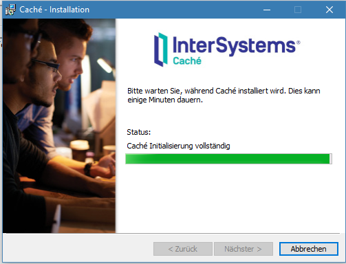 Can't install Caché on Windows 10 | InterSystems Developer