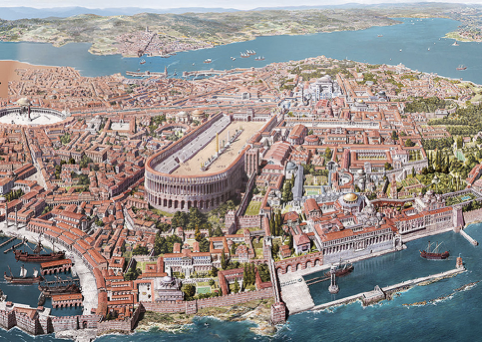Constantinople in the 5th century AD