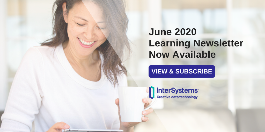 Read the June 2020 Learning Services newsletter