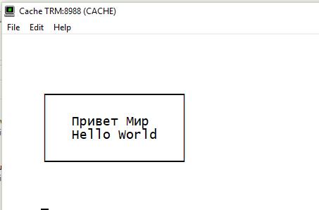Problem with terminal font | InterSystems Developer Community | Caché