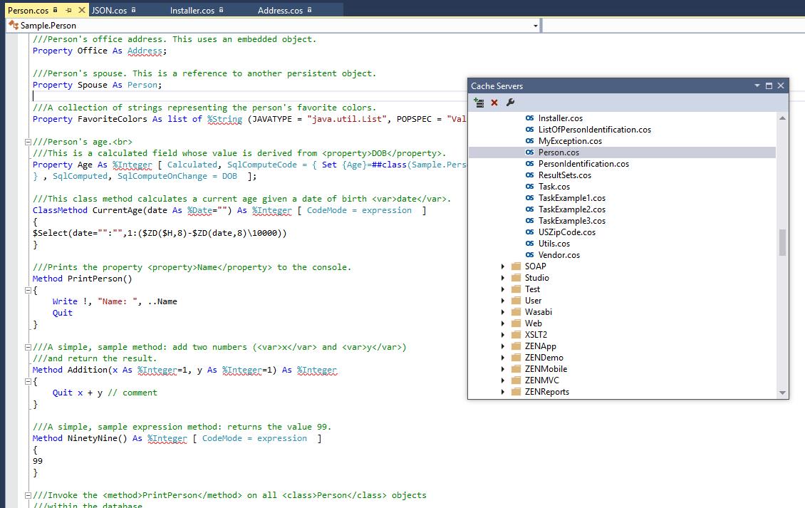 EnsPlus - the Objectscript plugin for the popular Visual