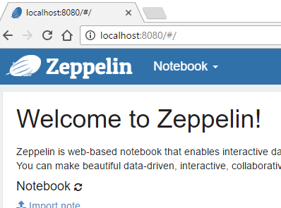 Using InterSystems Caché and Apache Zeppelin | InterSystems