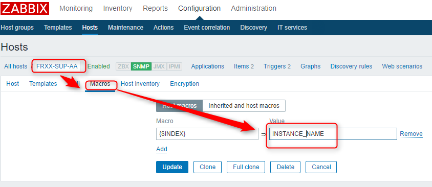 """How to use the """"Zabbix SNMP Dynamic Index"""" to monitor Cache"""