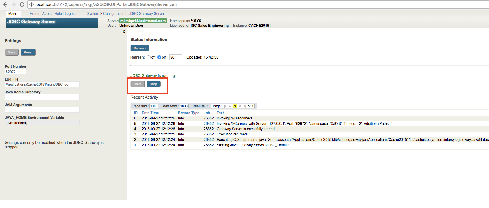 Mastering the JDBC SQL Gateway   InterSystems Developer