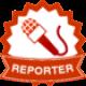 Reporter Badge